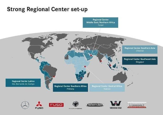Photo of Neuaufstellung abgeschlossen: Daimler eröffnet sechstes Regionalzentrum für Nutzfahrzeuge