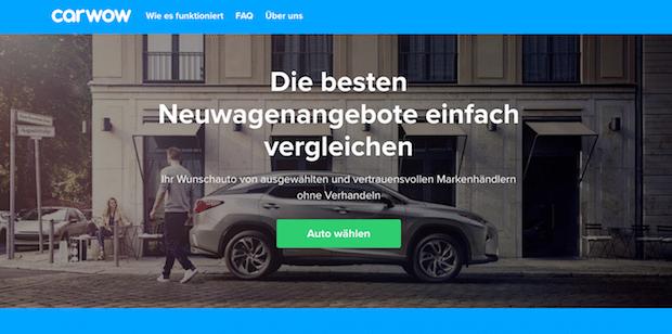 Photo of carwow mischt deutschen Autohandel auf