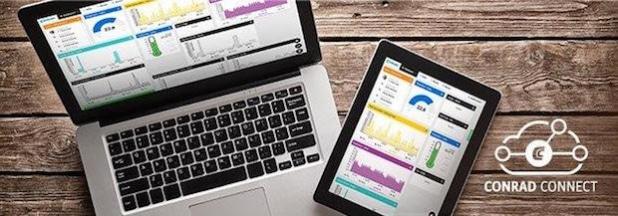 """Mit seiner neuen Online-Plattform Conrad Connect positioniert sich der Omnichannel-Händler jetzt auch im """"Internet der Dinge"""". - Quelle: Conrad Electronic"""