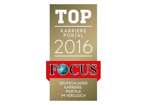 Photo of stellenanzeigen.de mit Focus-Siegel ausgezeichnet