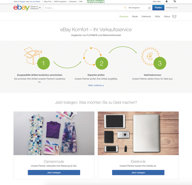 Photo of eBay startet neuen Service für private Verkäufer