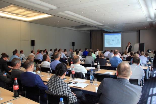 Steffen Haase, Vizepräsident beim Dachverband Deutscher Immobilienverwalter e.V., sprach auf dem MeasureNet Fachkongress über Trends & Herausforderungen für Immobilienverwalter und Messdienstunternehmen - Quelle: MeasureNet e.V