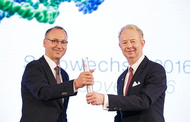 Bild von Stabwechsel bei Bayer: Werner Baumann folgt Dr. Marijn Dekkers