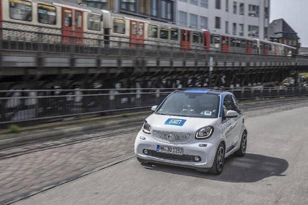 Bild von Corporate Carsharing: Flottenmanager setzen car2go auf Platz 1