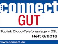 connect: toplink auf Platz 2 bei virtuellen Telefonanlagen