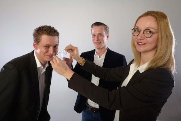 David Frings, Christian Pöpperl und Carina Kühl (v.l.) - Fotorechte: NUK - Fotograf: Oliver Schulze, Köln