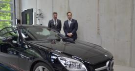 Daimler AG unterstützt Lehre mit einem Spendenfahrzeug