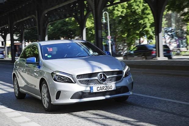 Bild von Mercedes-Benz Fahrzeuge von car2go ab Montag in Berlin verfügbar