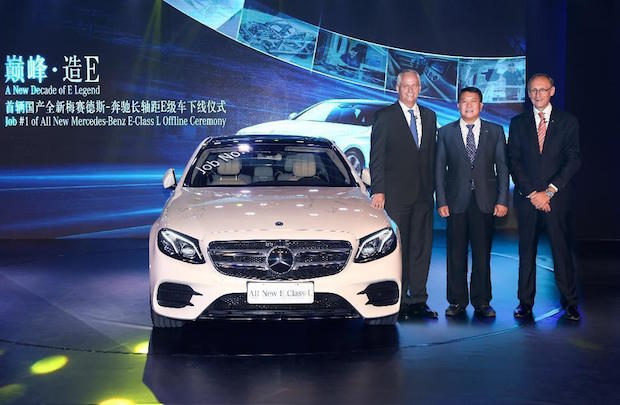 Photo of Mercedes-Benz startet Produktion der neuen E-Klasse Langversion in China