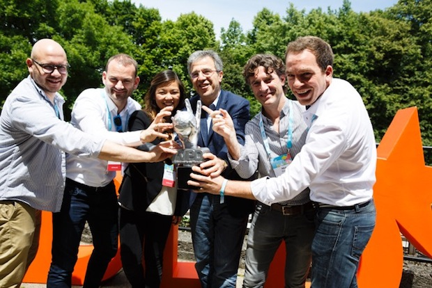 """Bild von Kampf um Media-Millionen: Tinkerbots gewinnt Startup-Wettbewerb von ProSiebenSat1 """"SevenVentures Pitch Day"""""""
