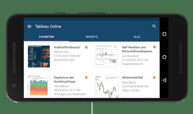 Photo of Datenanalyse auf dem Smartphone: Tableau Mobile jetzt auch für Android