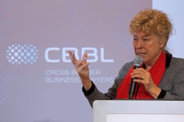 Prof. Gesine Schwan - Quelle: CBBL Forum/Almira Consulting