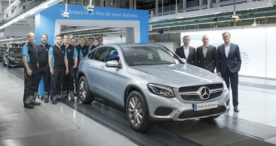 Mercedes-Benz startet Produktion des neuen GLC Coupés
