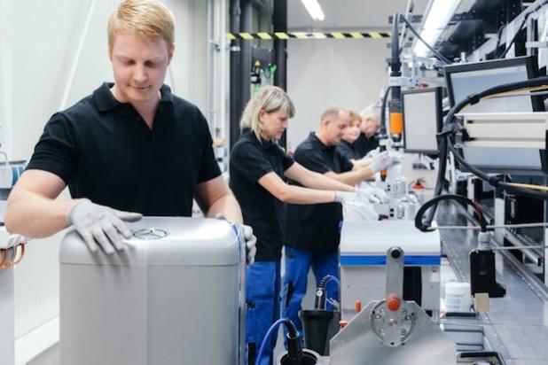 Europa, Deutschland, Sachsen, Kamenz. Gründung Mercedes-Benz Energy GmbH mit Sitz in Kamenz. @ 2016 Sven Döring für ACCUmotive