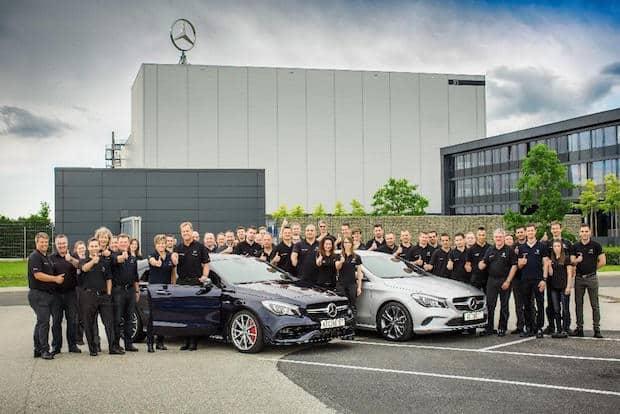 Bild von Mercedes-Benz startet Produktion des C-Klasse Cabriolets