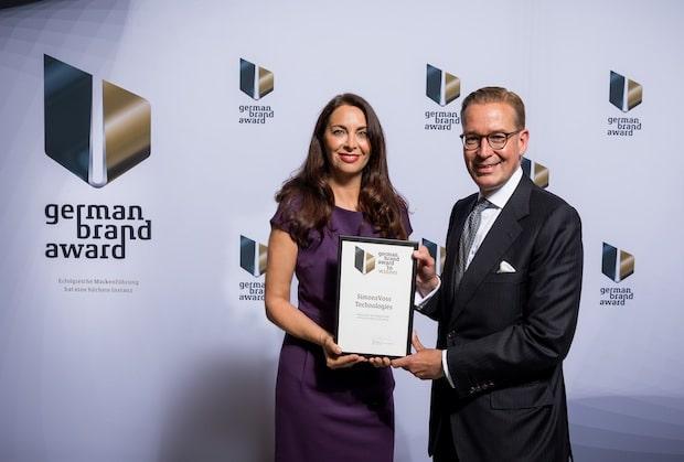 Bild von German Brand Award 2016 für SimonsVoss