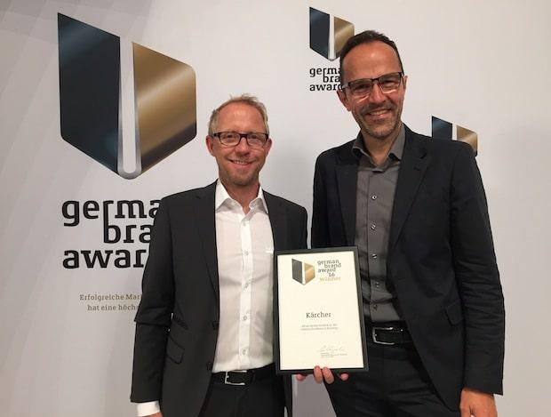 Photo of Kärcher und MetaDesign mit dem German Brand Award ausgezeichnet
