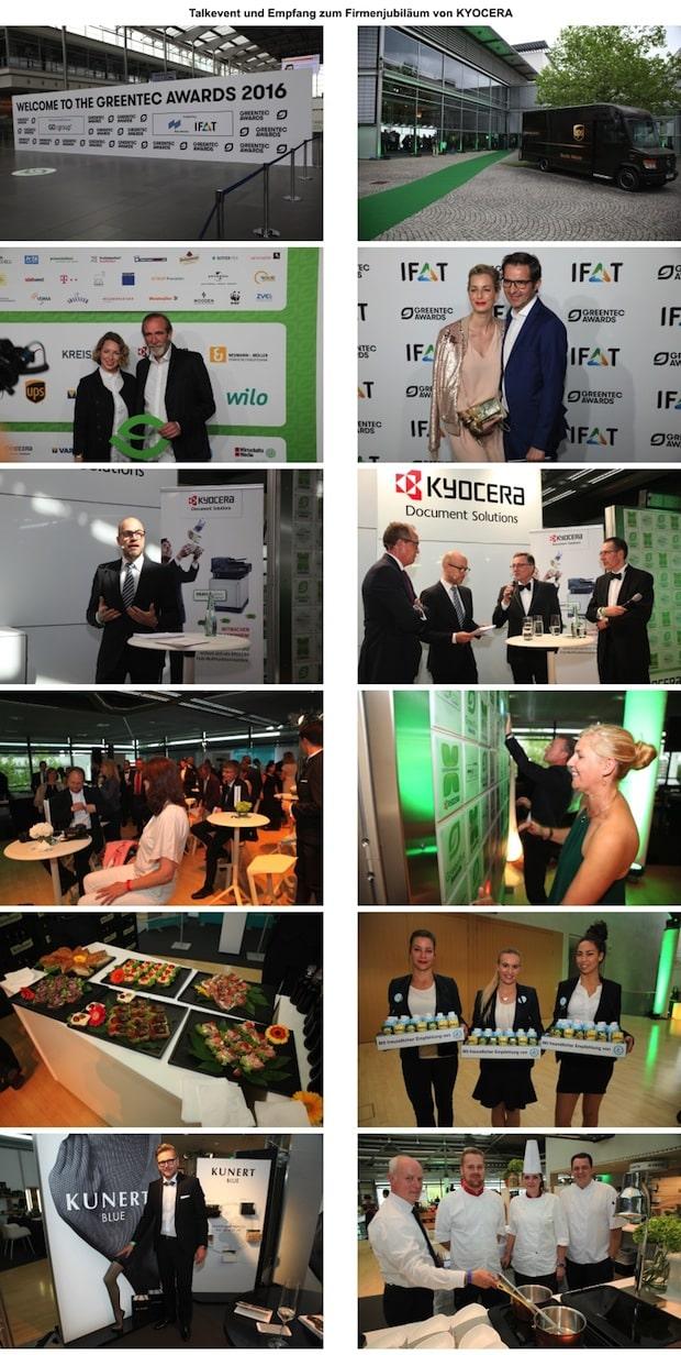 Talkevent und Empfang zum Firmenjubiläum von KYOCERA