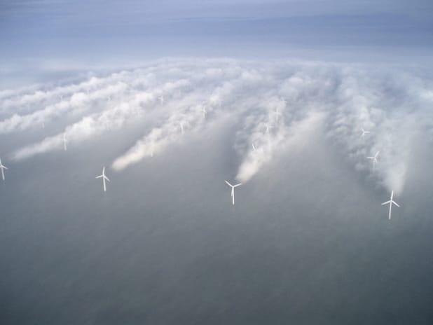 Offshore-Windpark Horns Rev 1 vor der Westküste Dänemarks - Quelle: Vattenfall GmbH