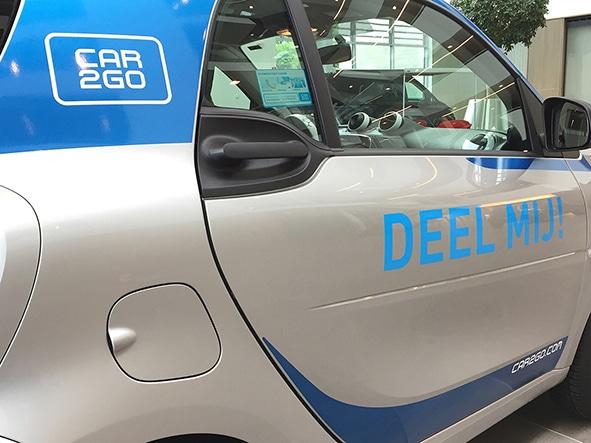 car2go eröffnet im Oktober 2016 den 31sten Standort in Brüssel. Quelle: Daimler AG