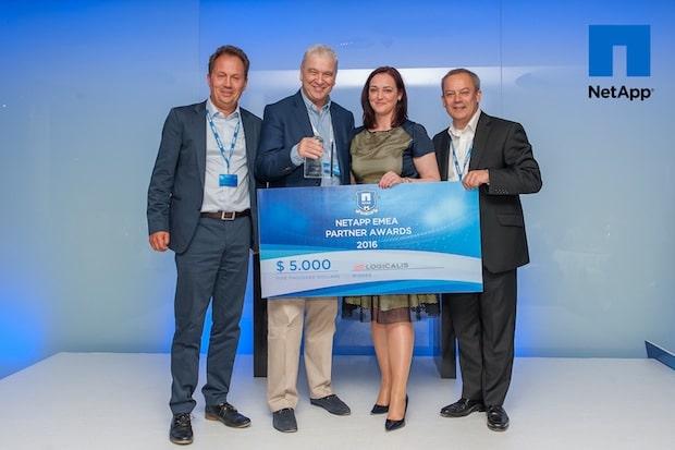 Bild von Logicalis Gruppe mit ihren Unternehmen Logicalis und inforsacom in Deutschland sind NetApp Ontap-Partner des Jahres