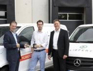 Same Day Delivery mit Mercedes-Benz Vans: 40 Vito für Liefery in Berlin