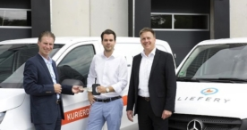 Same Day Delivery mit Mercedes-Benz Vans: 40 Vito für Liefery in Berlin