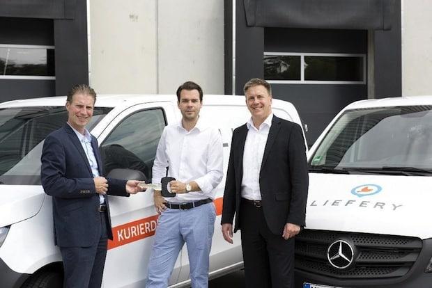 Photo of Same Day Delivery mit Mercedes-Benz Vans: 40 Vito für Liefery in Berlin