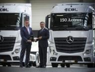 Ekol Logistics auf Expansionskurs mit Mercedes-Benz Actros