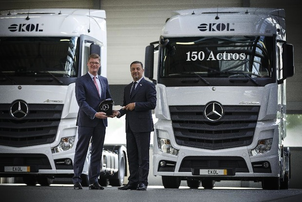 Photo of Ekol Logistics auf Expansionskurs mit Mercedes-Benz Actros