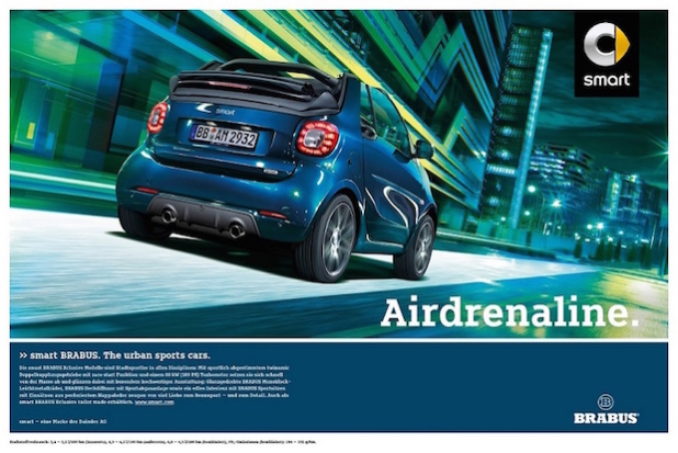 smart BRABUS. The urban sports cars (Quelle: Mercedes-Benz Cars Lifestyle Communications)