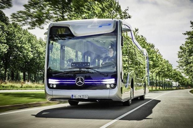 Bild von Weltpremiere: Daimler Buses präsentiert autonom fahrenden Stadtbus der Zukunft