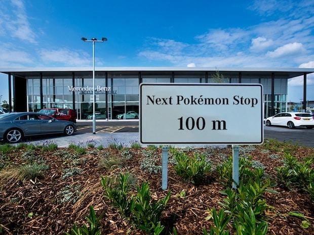 """Photo of Mercedes-Benz """"lockt"""" mit Pokémon GO"""