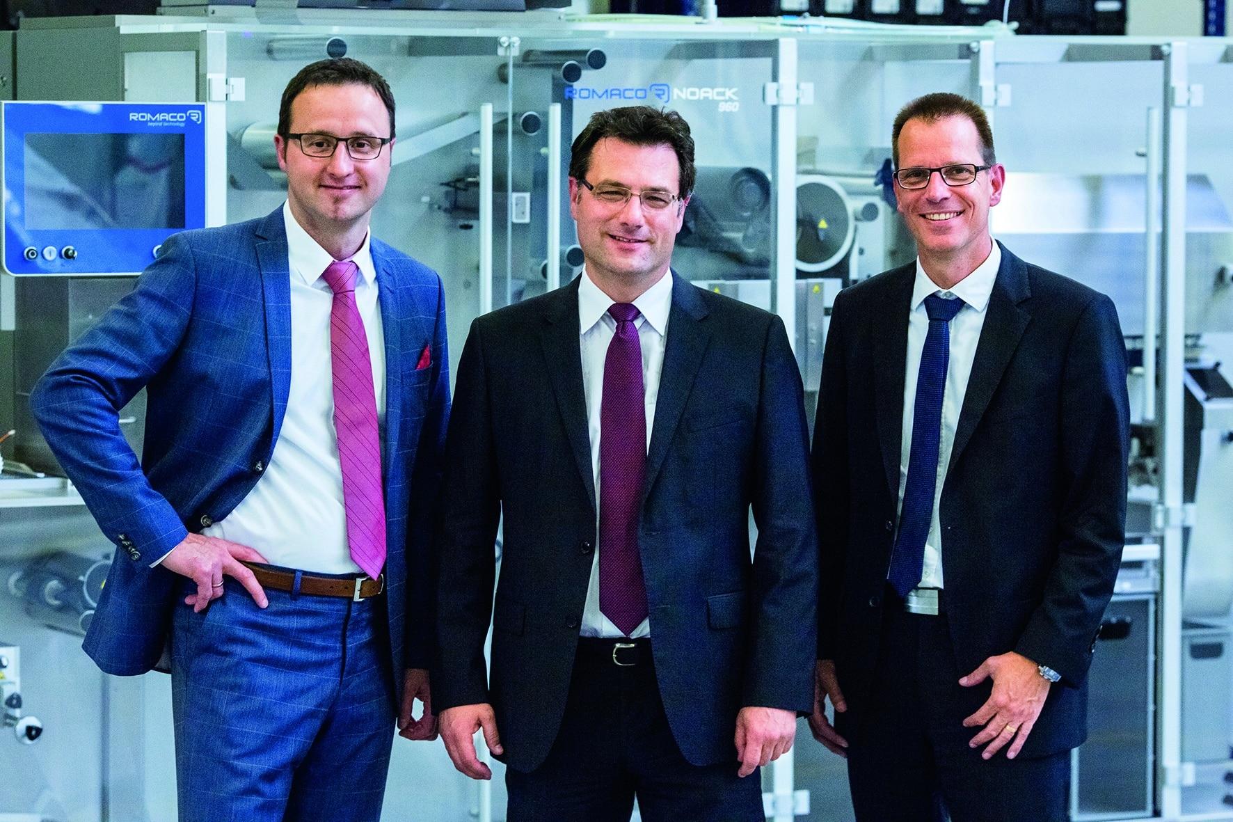 Photo of Dirk Bauernfeind wird neuer Geschäftsführer der Romaco Pharmatechnik GmbH