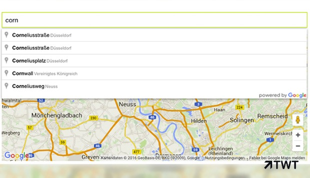 Photo of TWT bietet Kunden intelligente Adresseingabe mit Google Maps