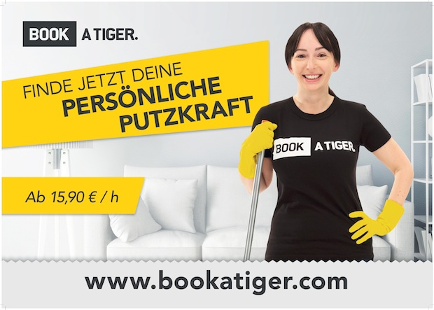 Photo of Markenoffensive: BOOK A TIGER startet zweite Plakatkampagne in Deutschland