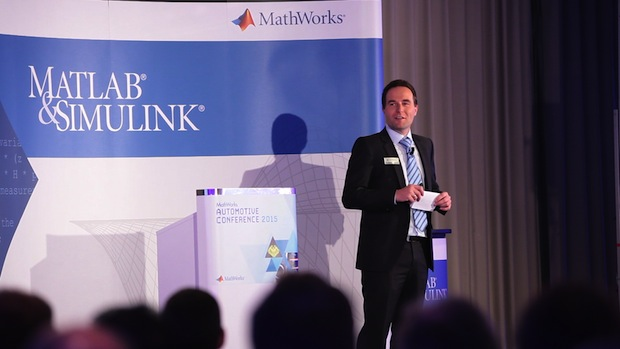 Photo of MathWorks Automotive Conference 2016 in Stuttgart