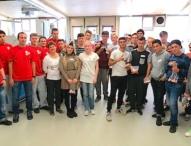 Technik-Tag bei Sanner gibt 60 Schülern Einblick in die Kunststoffverarbeitung