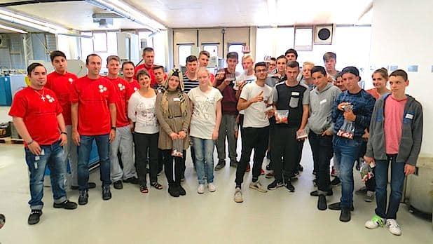 Bild von Technik-Tag bei Sanner gibt 60 Schülern Einblick in die Kunststoffverarbeitung