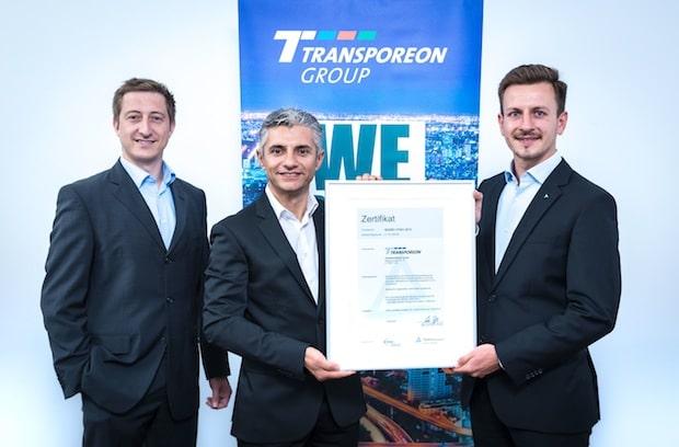 Bild von Transporeon hat als einer der ersten Anbieter von Cloud-basierten Logistiklösungen eine ISO 27001-Zertifizierung erhalten