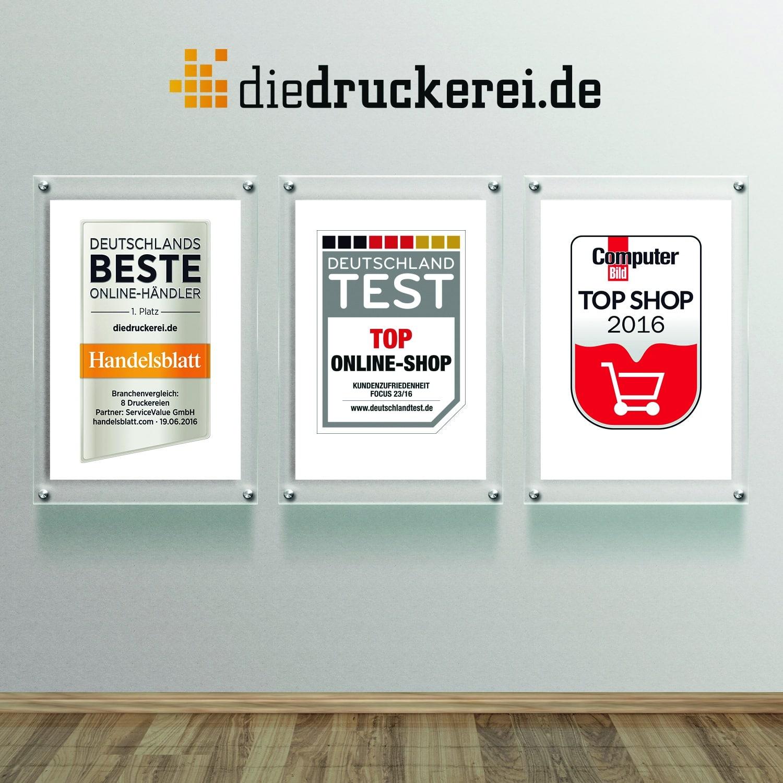 Bild von diedruckerei.de von Handelsblatt, FOCUS und COMPUTER BILD ausgezeichnet