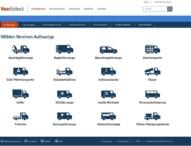 IAA Nutzfahrzeuge 2016 – VanSelect: Vergleichsportal für Auf- und Umbauten öffnet sich Endkunden
