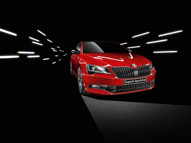 Photo of Rassiges Topmodell: SKODA SUPERB SportLine ab sofort bestellbar