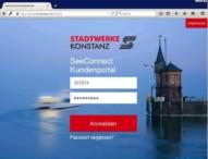 Stadtwerke Konstanz setzen auf Digitalisierung: Online-Kundenportal mit der in-GmbH realisiert