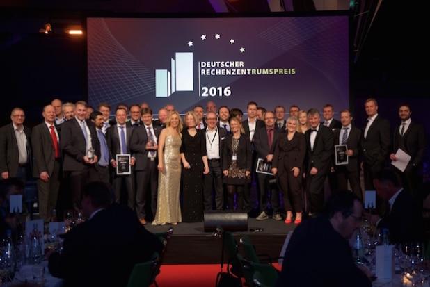 Gewinner des Deutschen Rechenzentrumspreises 2016 (Quelle: future thinking)