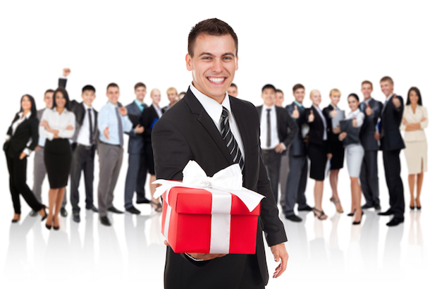 Bild von Geschenkideen für Mitarbeiter und Kunden