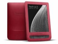 PocketBook präsentiert den Touch Lux 3 Ruby Red
