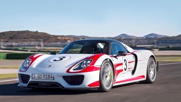 Porsche 918 Spyder im Einsatz. Foto: Porsche AG