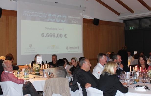 Schon 2015 gab es eine Versteigerung  für den guten Zweck. (Quelle: Mühlbauer GmbH & Co. KG)
