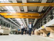 DFH eröffnet neue Produktionsanlage und plant weiteren Ausbau